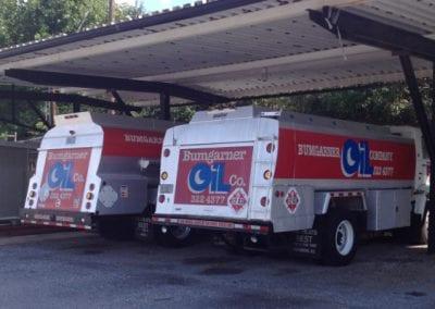 Bumgarner Oil service trucks