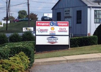 Bumgarner Oil Sign board