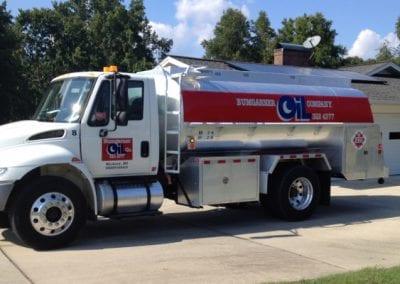 Bumgarner Oil service truck