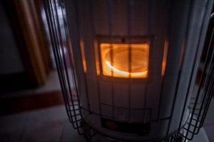 Kerosene oil heaters work much like kerosene lamps